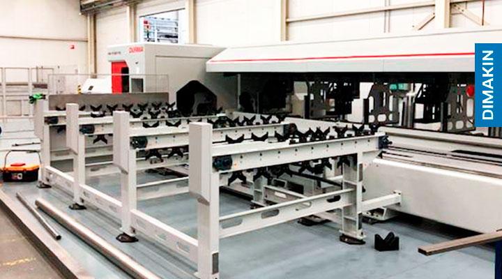 Máquina corte laser tubo