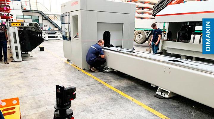 maquina corte laser tubo