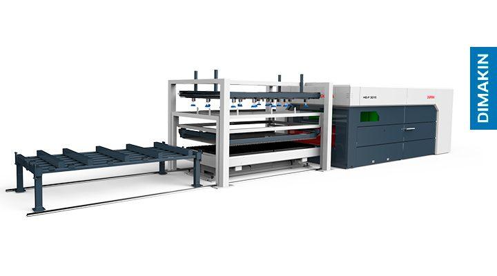 Máquina Corte Laser Chapa Dimakin