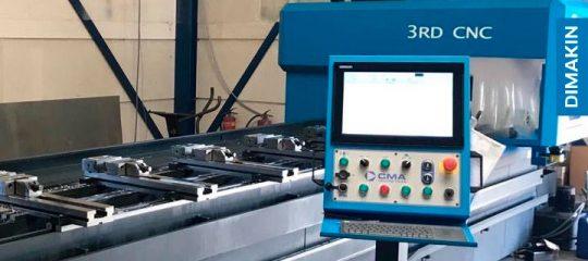 Centros de Furação, Roscagem e Fresagem CNC