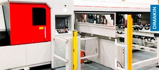 maquina corte tubo laser