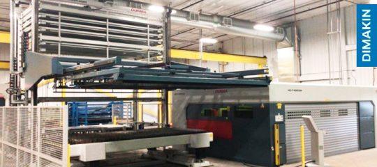 Máquina corte laser chapa e tubo