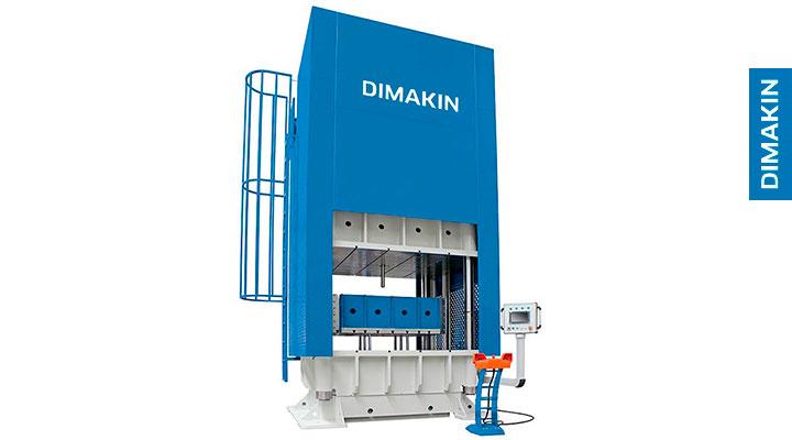 prensa hidráulica automática