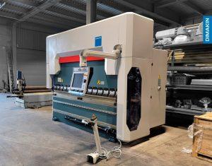 Instalação Quinadora de Chapa CNC DIMAKIN